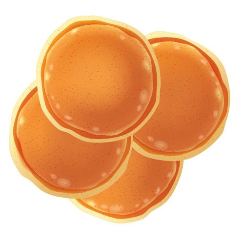 American pancakes naturel (4stuks)