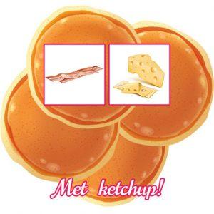Tosti Pancake