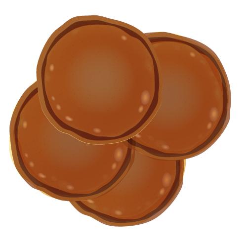 American pancakes chocolade (4stuks)