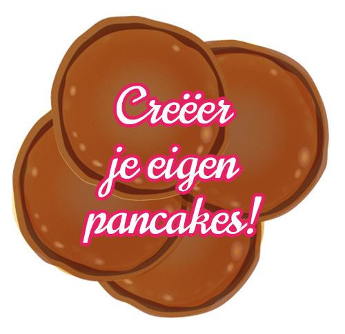 Creëer je eigen American Pancakes