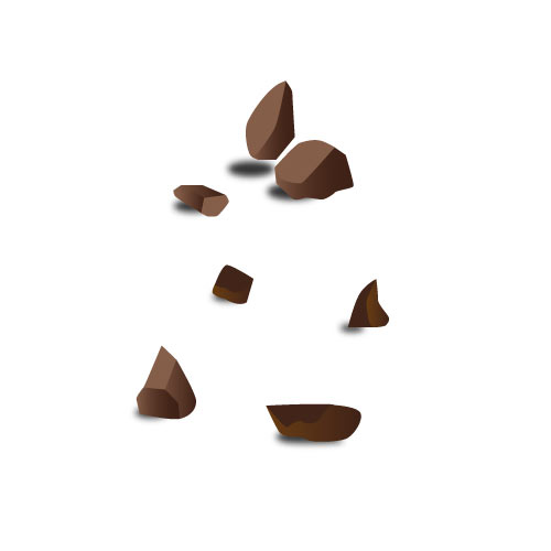 melk chocoladestukjes